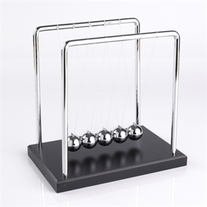 Picture of Newton's Cradle Large Black Base 7 1/4""