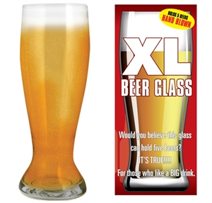 Picture of Giant Beer Glass