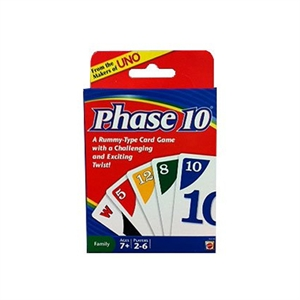 Picture of Phase 10 Card Game Bilingual