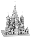 Picture of St. Basil's Cathedral Deluxe 3D Metal Model Kit