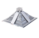 Picture of Mayan Pyramid 3D Metal Model Kit