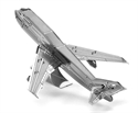 Picture of Commercial Jet 3D Metal Model Kit