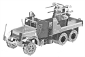 Picture of Anti-Aircraft Truck Deluxe 3D metal Model Kit