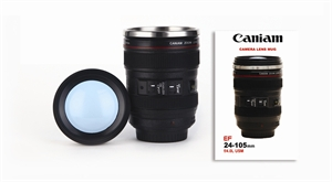 Picture of Camera Lens Mug Short Black