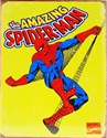 Picture of Spiderman Retro Yellow Tin Sign