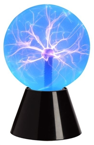 "Picture of Plasma Ball 6"" Blue"