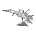 Picture of Air Force J-15 3D Metal Model Kit