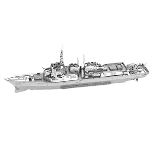 Picture of Burke Class Destroyer 3D Metal Model Kit