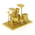 Picture of Drum Kit Gold Deluxe 3D Metal Model Kit