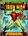 Picture of Iron Man Cover Tin Sign 41 x 33 cm