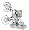 Picture of Movie Projector Deluxe 3D Metal Model Kit