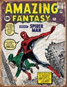 Picture of SPIDERMAN COVER TIN SIGN 41X33 CM