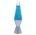 """Picture of Glitter Lamp Blue 14"""""""