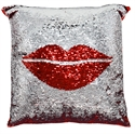 Picture of Sequin Pillow Lips