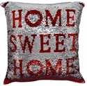 Picture of Sequin Pillow Sweet Home