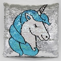 Picture of Sequin Pillow Unicorn