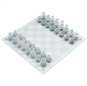 Picture of Glass Chess Set 35 x 35 cm