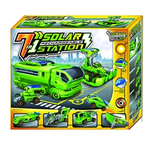 Picture of 7 in 1 Solar Rechargeable Station